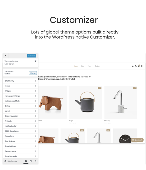 Crafted - Versatile Elementor WordPress Theme - 4