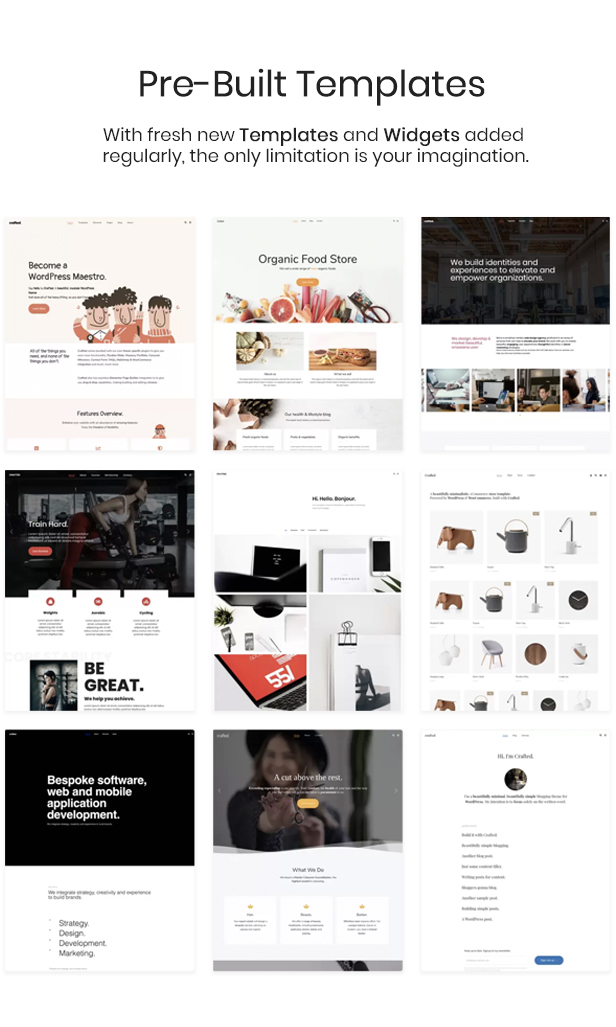 Crafted - Versatile Elementor WordPress Theme - 2